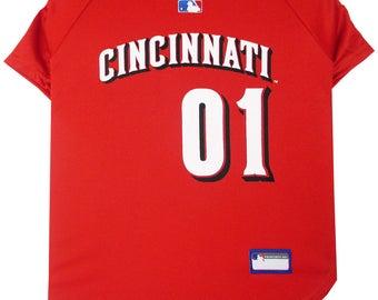 Cincinnati Reds Dog Jersey / Pet Clothes / Dog Clothes