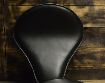 Handmade Bobber Seat + Pillion Seat Black