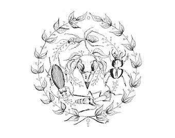 Cycles - Original Print