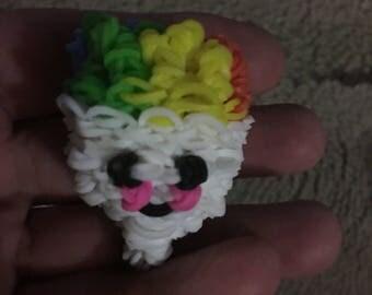 Rainbow Loom Snowcone