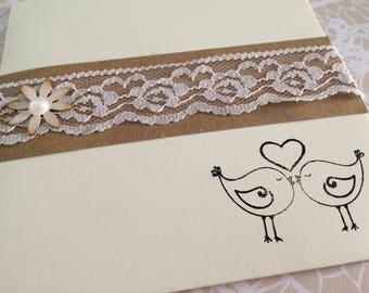wedding invitation partecipazione matrimonio shabby chic