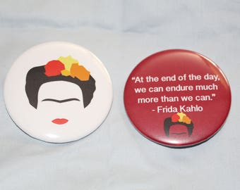 Frida Kahlo pin set