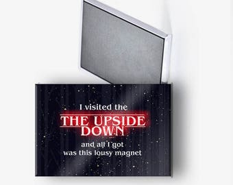 Stranger Things Upside Down Refrigerator Magnet 2x3