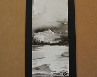 Ink Painting- River