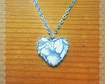Broken China jewelry, necklace handmade jewelry best selling gift