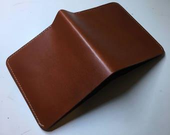 Wickett and Craig Chestnut Bifold Wallet
