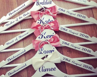 Bridal Party Personalized Hangers