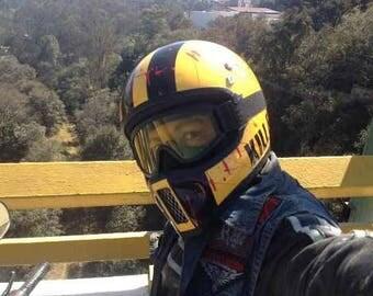 Motorcycle helmet tribute KILL BILL