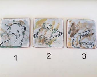 Creepture Ceramic Tiles