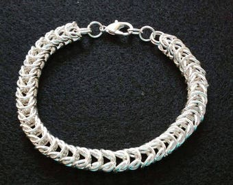 Silver Plated Copper Box Chain Bracelet