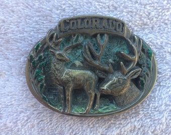 Vintage Colorado Belt Buckle