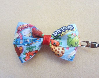 Medium Shopkins Pinwheel Hair Bow