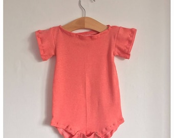 Baby Capped Sleeve Romper
