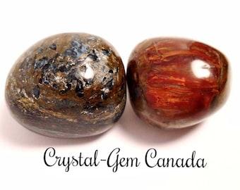 1 (one) powerful Pietersite. Pocket Stones, - Gemstone for psychic vision, and telepathy. Gemstone  infused w Reiki
