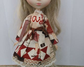 Robe Pullip Vintage manches longues