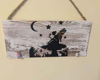 Fairy hanging wall decor