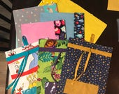 Puzzle Pouches & Toy Bags