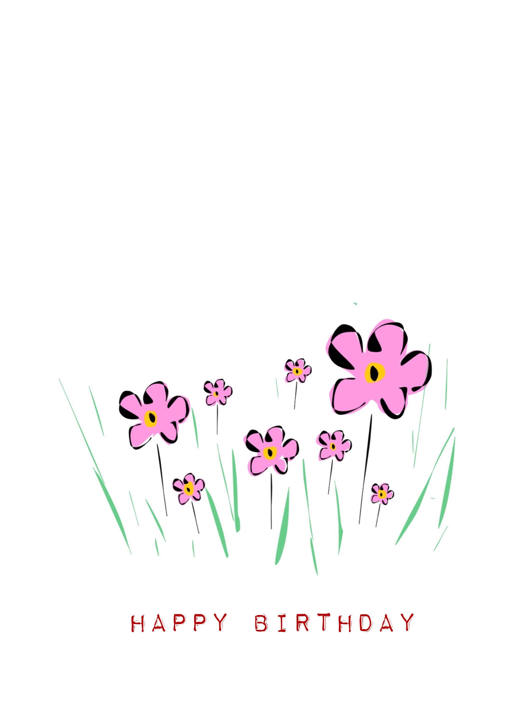 Happy Birthday Card Girl Image collections Free Birthday Cards