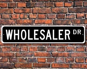 Grossiste, grossiste cadeaux, grossiste signe, vendeur, employé du magasin, vente directe, Custom rue signe, signe de métal de qualité