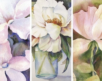 Watercolor Cards by LaVonne Ewing, the Blanca Series