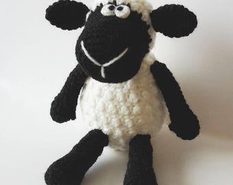 Crochet sheep pattern - Amigurumi sheep pattern - crocheted pattern - PDF crochet pattern - tutorial
