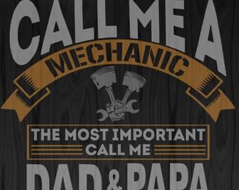 Mechanic Dad SVG