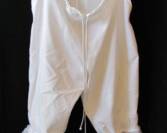 Upcycled Bloomers, pantalettes, drawers, stage costume, cosplay, knickers. historical, wagon train, (large)