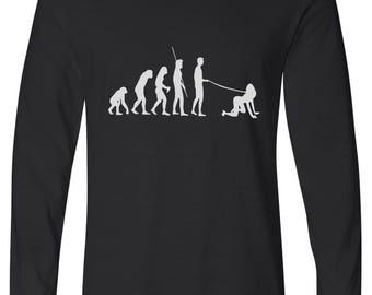 Evolution of Walkies Long Sleeve Tee