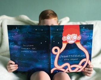 Spaghettification - Hawking inspired children's science book