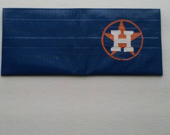 Houston Astros Bifold Duct Tape Wallet