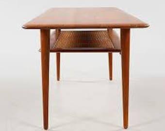 Rectangular Danish room coffee table