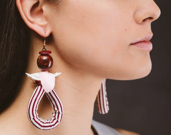Sista Shell Earings by Minoo Accessories