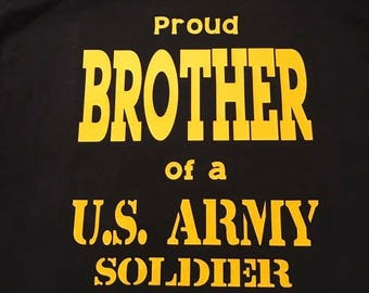 Proud ___ of a US ARMY Soldier