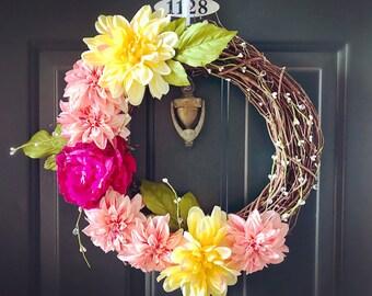 Summer Bloom Wreath
