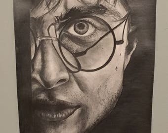 Harry Potter BW Portrait Original