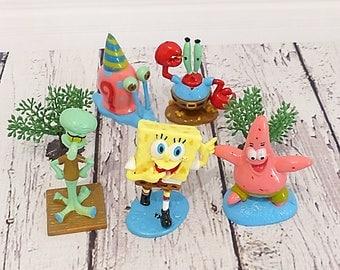 Bob the sponge - Sponge Bob - figurine set