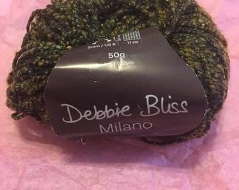 Green Bush Milano Yarn by Debbie Bliss
