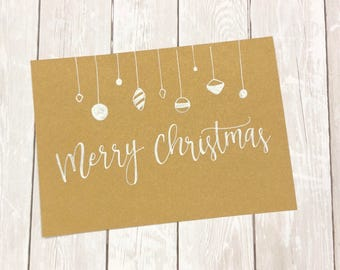 Christmas cards! Handmade holiday cards! Completely customizable