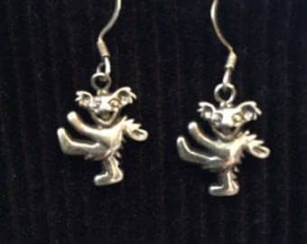 Dancing Bear Earrings