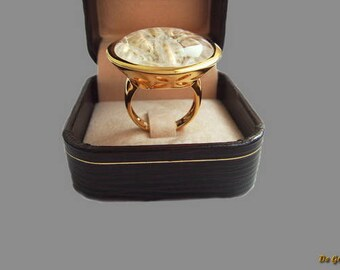 Jewelry, a gift to a woman, a ring of silver