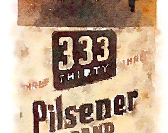 Pilsner Beer 333