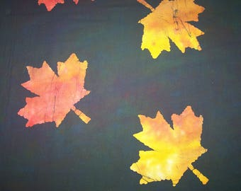 Falling Leaves Batiks