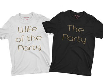 Wife of the Party Crew Neck Tshirt, The Party Crew Neck Tee