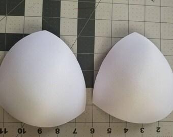 1 pair of bikini bra inserts C cup