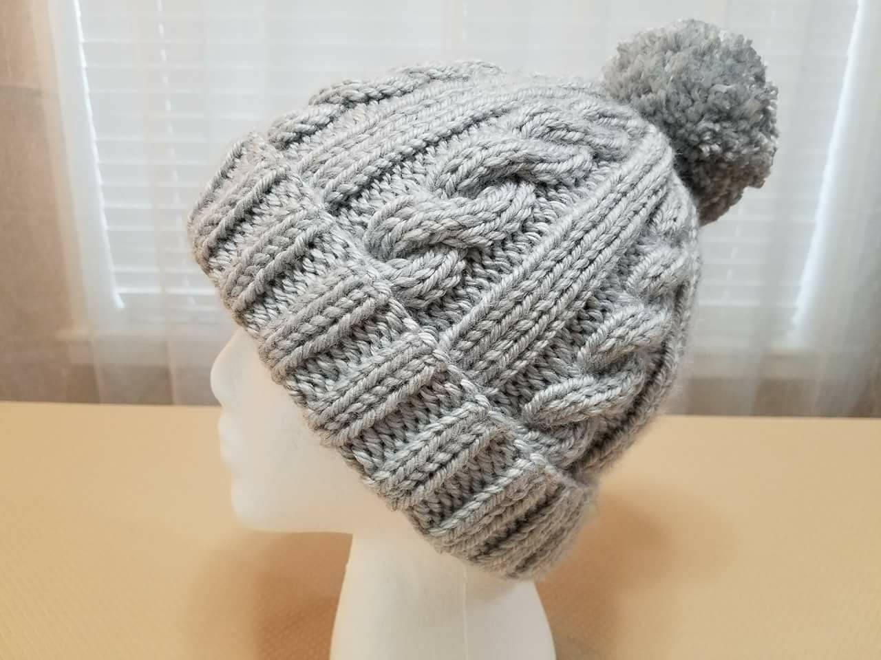 Twisted cables hat greyhound womens knit hat zoom bankloansurffo Images