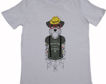 Organic T-shirt Humanimals - Dog