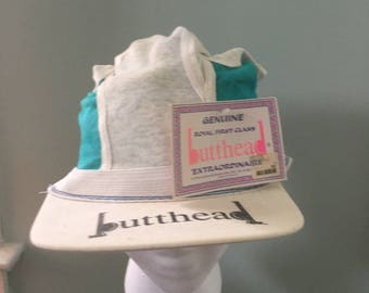 Vintage Genuine Royal First Class Butthead Hat - Underwear Novelty Gag Gift