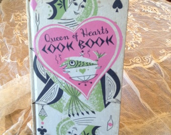 Queen of Hearts Cookbook by Peter Pauper Press, 1955