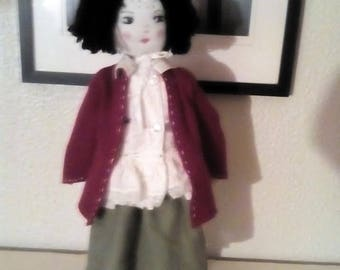 "Tilly  18"" Rag Doll"
