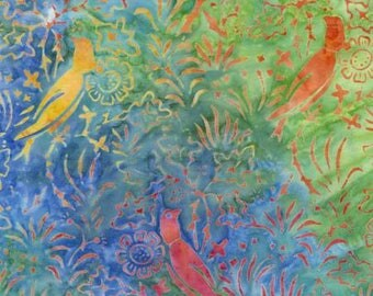 170058 Island, Tonga Batik in Happy Hour by Daniela Stout Collection